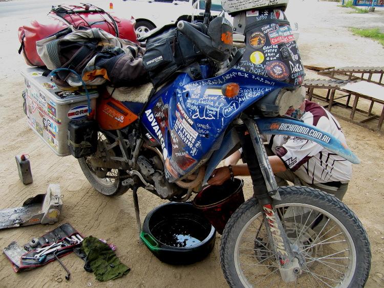 leeren motorradtank überwintern