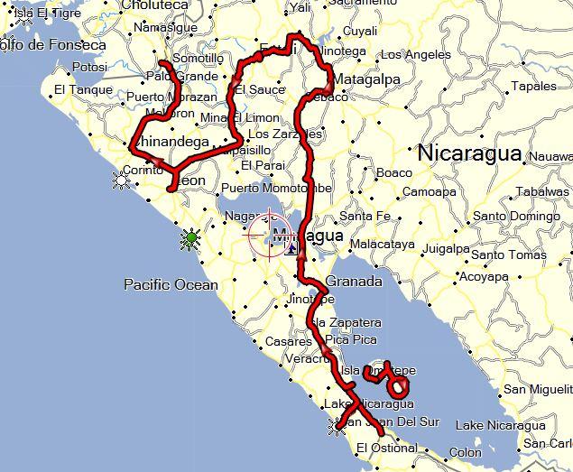 welt tour Nicaragua